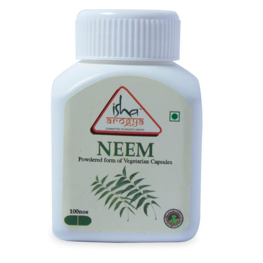 Neem Powder in Veg Caps, 100 pcs