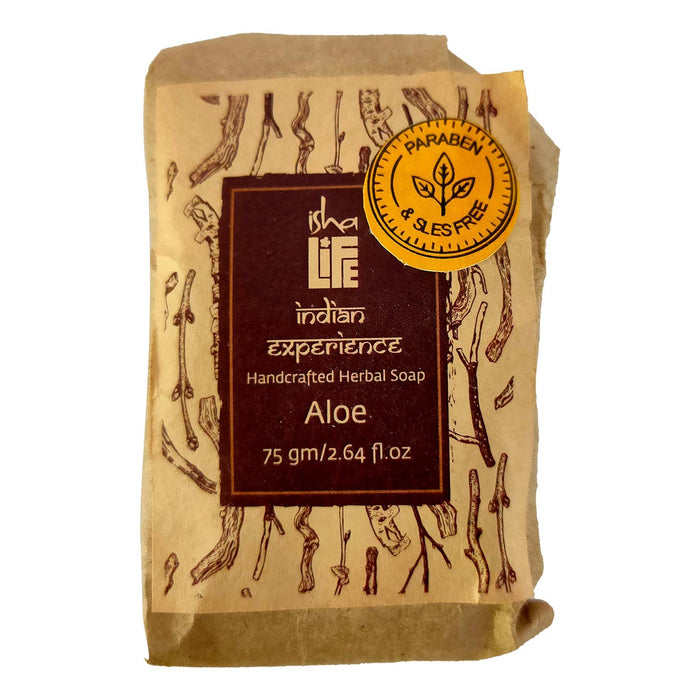 Herbal Aloe Soap (Paraben & SLES Free), 75 gm