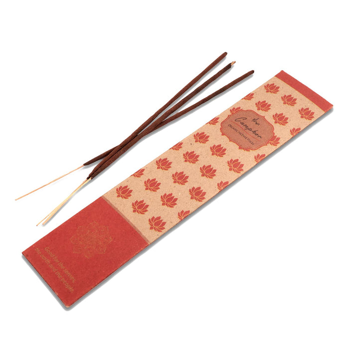 Organic Incense Camphor, 10 Sticks
