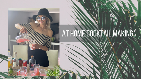 At Home Cocktails for a Good Cause