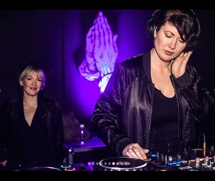Girls Club DJs open for Mija Edmonton Blueprint Show