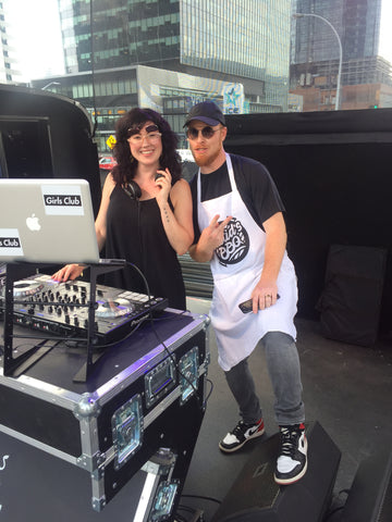 Suzy Girls Club Dj with Skratch Bastid Edmonton BBQ 2018