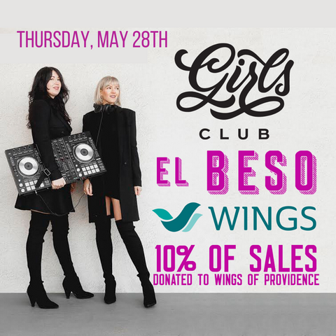 el beso and girls club fundraiser for wings of providence