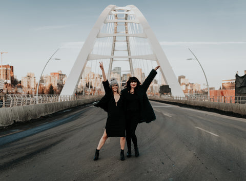 edmonton Girls Club Djs walterdale bridge