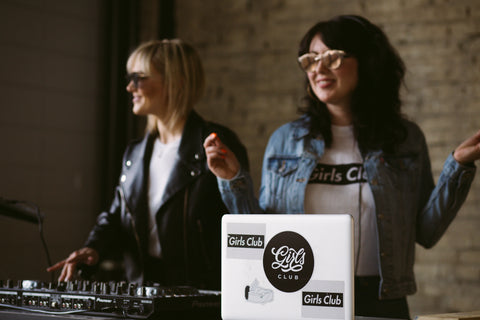 girlsclub djs at central social hall edmonton happy hour