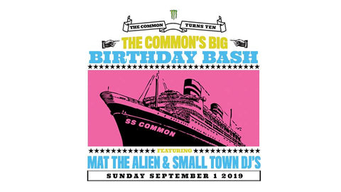 the common 10 year anniversary party