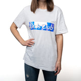 Holograph on White Girls Club T-shirt (limited edition)