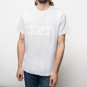 White on White Girls Club T-shirt (limited edition)