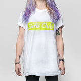 Slime Green Girls Club T-shirt (limited edition)