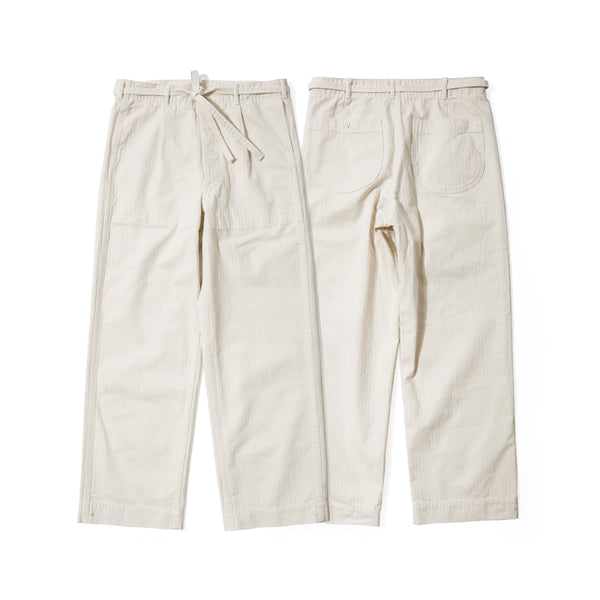 REDCLOUD 赤芸 DF-4401 DRAWSTRING HBT PANTS OAT