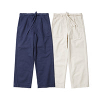 REDCLOUD 赤芸 DF-4401 DRAWSTRING HBT PANTS NAVY