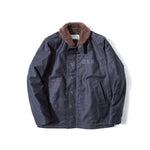 REDCLOUD 赤芸 Lot. 7710-15 USN N1 DECK JACKET NAVY BLUE