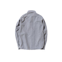 REDCLOUD 赤芸 DFSHW-T-2 LADIES SEERSUCKER THIN STRIPE L/S SHIRT