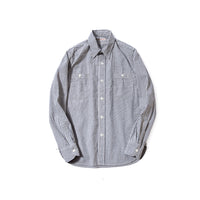 REDCLOUD 赤芸 DFSH-T-2 SEERSUCKER THIN STRIPE L/S SHIRT