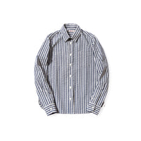 REDCLOUD 赤芸 DFSHW-T-1 LADIES SEERSUCKER WIDE STRIPE L/S SHIRT