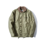 REDCLOUD 赤芸 Lot. 7710-15 USN N1 DECK JACKET OLIVE