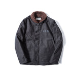 REDCLOUD 赤芸 Lot. 7710-15 USN N1 DECK JACKET BLACK
