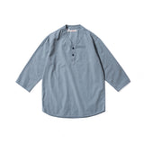 REDCLOUD 赤芸 W60N3 SUMMER PULLOVER H/S SHIRT PALE BLUE