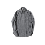 REDCLOUD 赤芸 W70N-1 SALT & PEPPER L/S WORK SHIRT