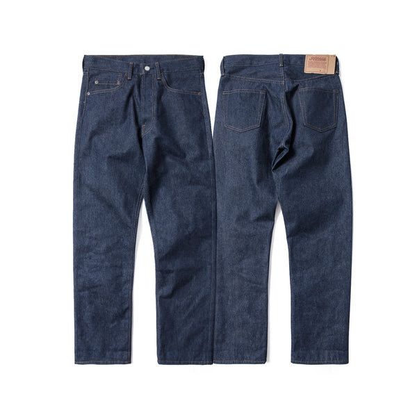 REDCLOUD 赤芸 LOT. R423-66 STRAIGHT-CUT U.S.A COTTON SELVEDGE DENIM