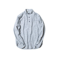 REDCLOUD 赤芸 W80N-2 HALF PLACKET L/S SHIRT STRIPE