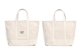 REDCLOUD 赤芸 BR-MW KURASHIKI CANVAS TOTE BAG WHITE