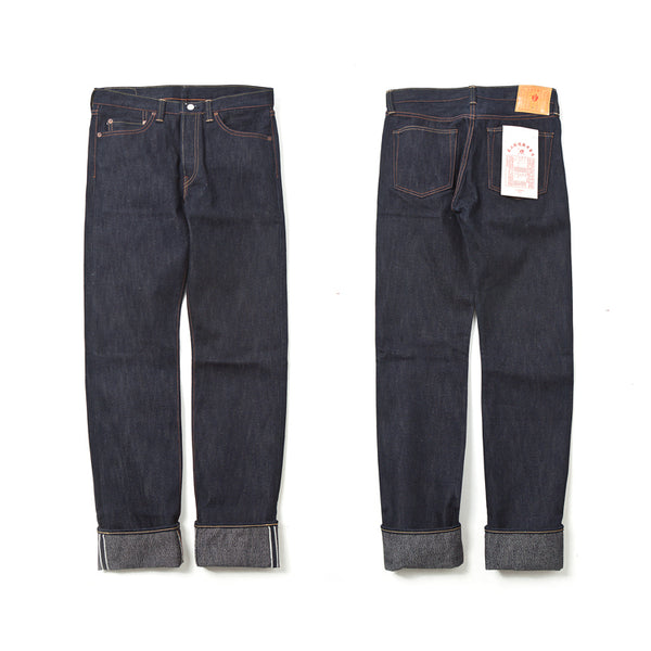 REDCLOUD 赤芸 LOT. R400 SLIM-STRAIGHT 17OZ SELVEDGE DENIM