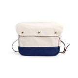 REDCLOUD 赤芸 RC007-B KURASHIKI CANVAS MESSENGER BAG BLUE