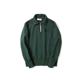 REDCLOUD 赤芸 Lot. ZT-02-2 HALF ZIP SWEAT