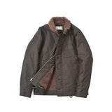 REDCLOUD 赤芸 Lot. 7710-14 USN N1 DECK JACKET BROWN