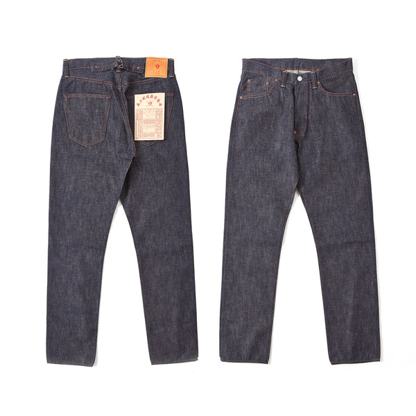 REDCLOUD 赤芸 LOT. R436XX REGULAR-CUT SELVEDGE DENIM CINCH-BACK