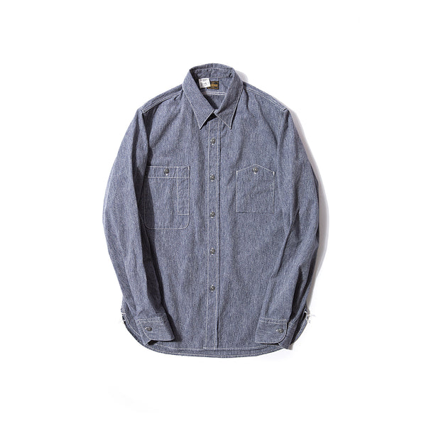 REDCLOUD 赤芸 W70N-2 SALT & PEPPER L/S WORK SHIRT