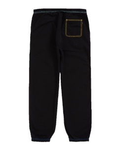 Supreme Big Stitch Sweatpants Black