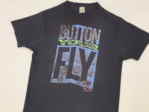 Vintage Levis Button Your Fly Tee