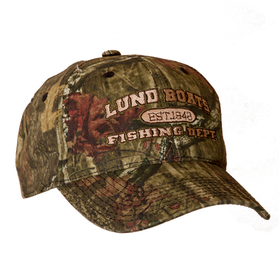 Mens Mossy Oak Lund Fishing Dept Hat