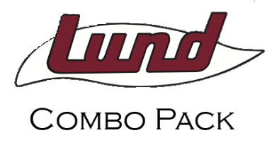 Lund Retro Decal Combo Pack (set of 3)