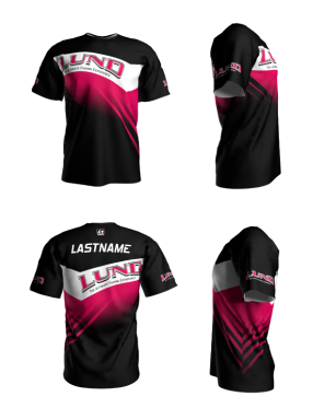 Personalized Lund Short Sleeve Jersey (Style 8)