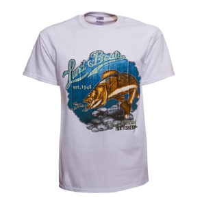 Mens Lund Boats Walleye Tee