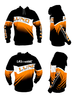 Personalized Lund Hoodie (Style 8)