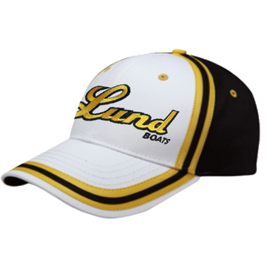 Lund Script Logo Brushed Canvas Hat
