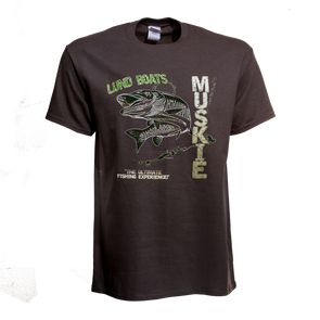 Mens Lund Boats Muskie Tee
