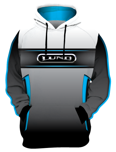 NEW FOR 2021! Personalized Lund Hoodie (Style 11)