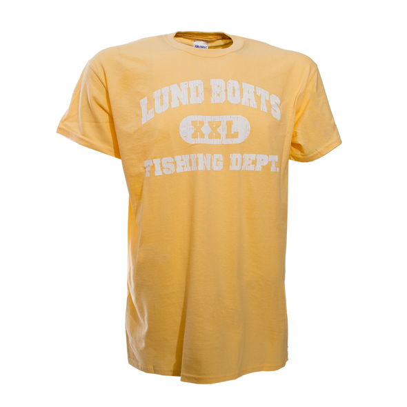 Mens Lund Boats Fishing Dept Tee