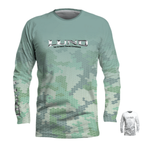 Fish Scale Long Sleeve Performance Tee