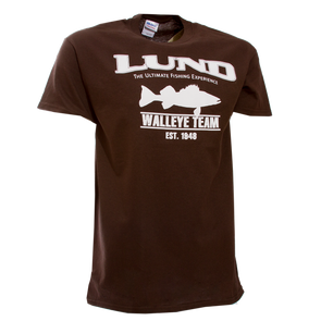 Mens Lund Ultimate Fishing Walleye Team Tee