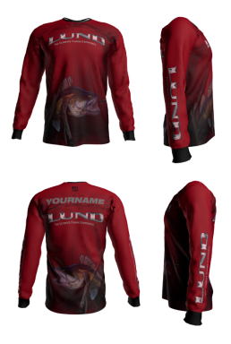 Personalized Lund Long Sleeve Jersey (Style 6)