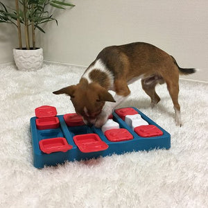 Nina Ottosson Dog Brick - Flip, Slide & Treat! Level 2