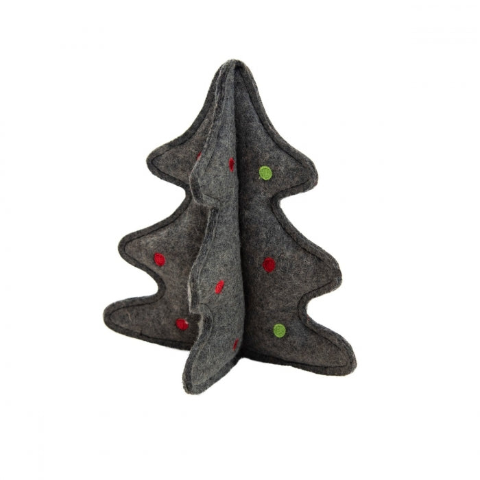 Outward Hound Woolyz Holiday Tree Gry Os