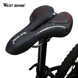PU Leather Hollow Cycling Seat | Cyclists Haven