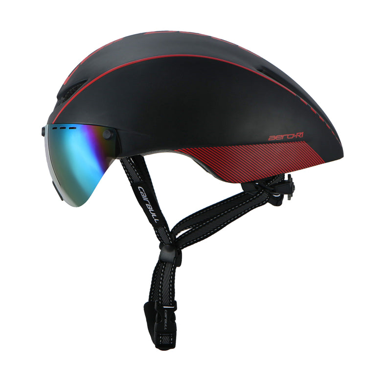 Magnetic Goggles Safety Helmet